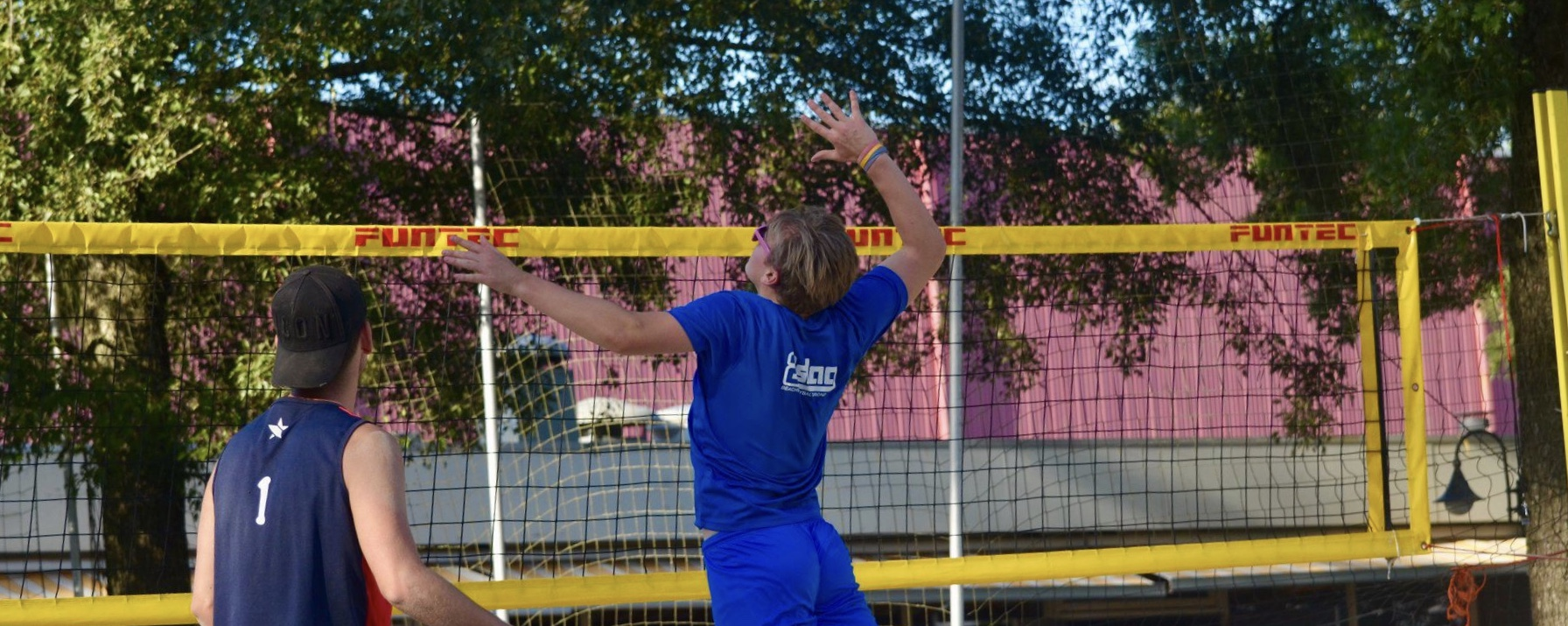 Beachvolleyballen doe je bij G.S.B.V. Tweeslag
